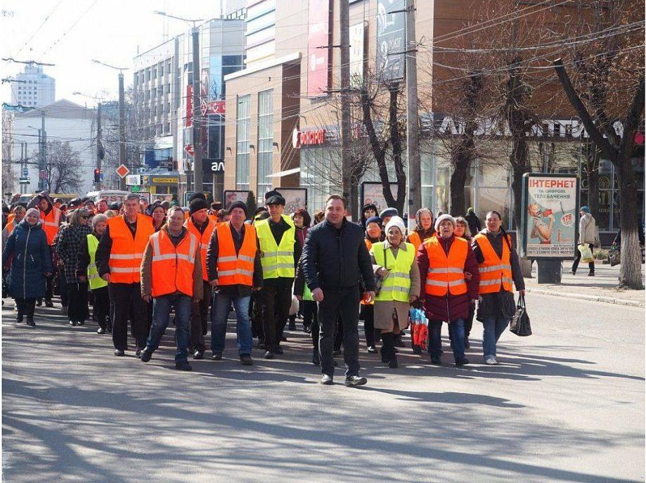 У Кропивницькому відбувся парад помаранчевих жилетів. ФОТО - 2 - Життя - Без Купюр