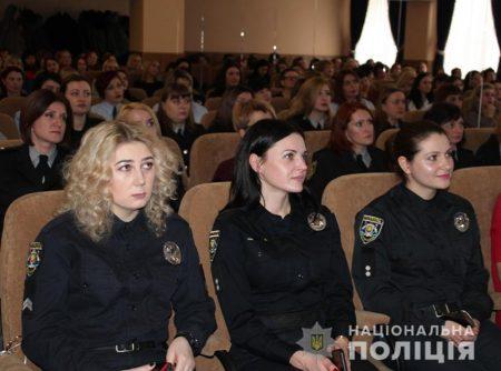 У Кропивницькому поліціянткам вручили ключі від службового житла