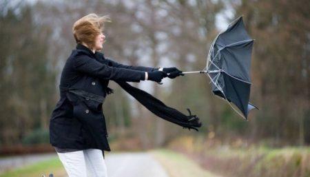 Сьогодні у Кропивницькому та області прогнозують сильні пориви вітру