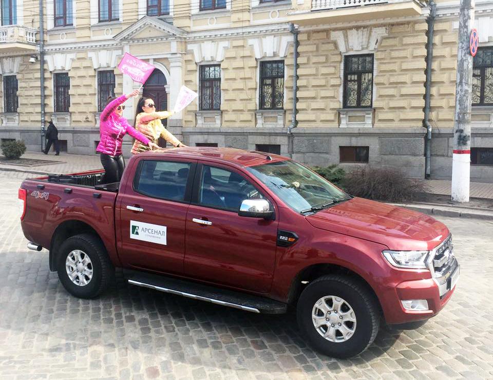 """У Кропивницькому стартував перший жіночий автопробіг """"Забіг на шинах"""". ФОТО 3 - Життя - Без Купюр"""