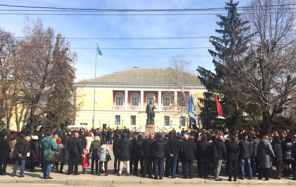 У Кропивницькому відзначили 205 річницю з дня народження Шевченка. ФОТО - 1 - Культура - Без Купюр