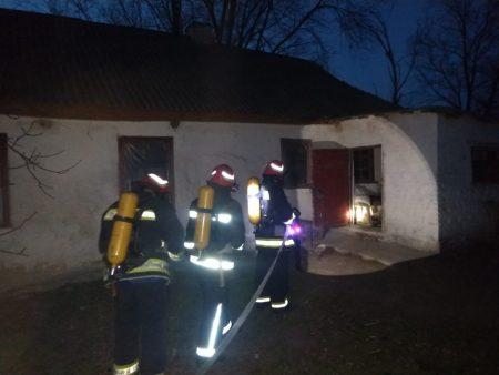 На Кіровоградщині за добу тричі виникали пожежі у приватних будинках