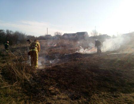 Не дивлячись на попередження, на Кіровоградщині місцеві жителі продовжують палити траву