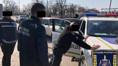 На Кіровоградщині за підозрою в отриманні хабара затримали поліцейського. ФОТО
