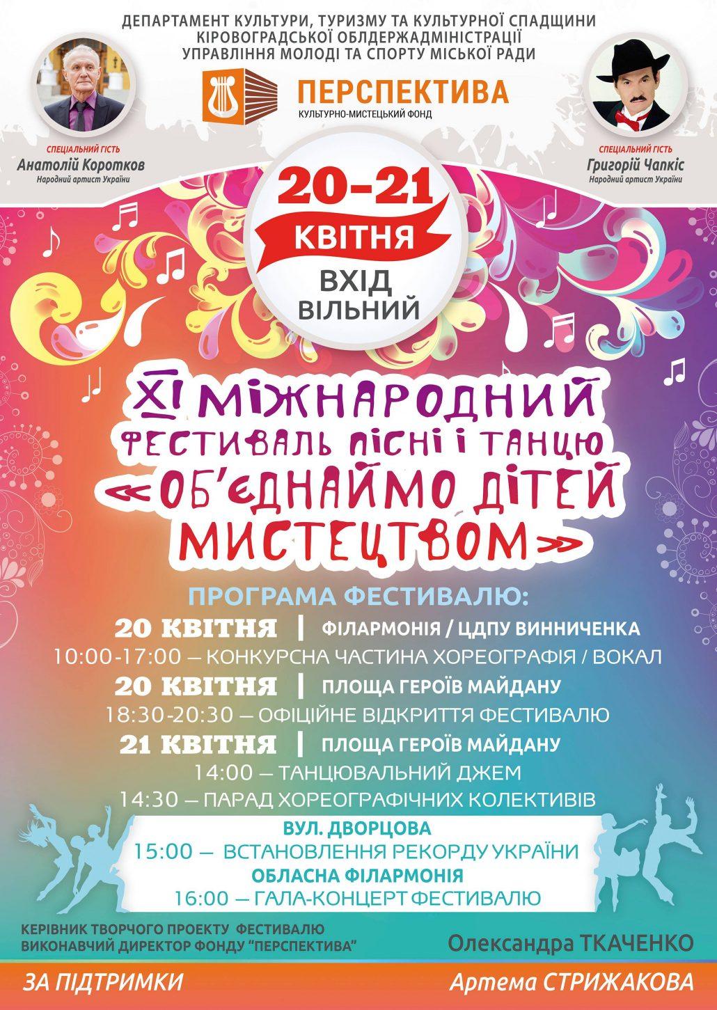 Цими вихідними кропивничан запрошують на головну танцювальну подію року - 1 - Культура - Без Купюр