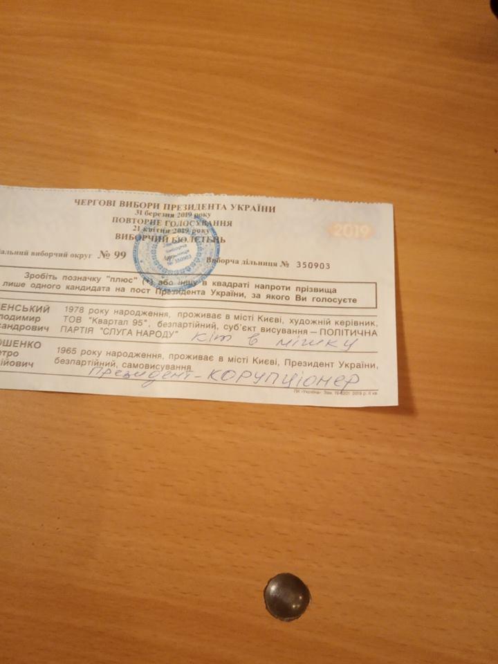 В ОПОРІ показали, що писали мешканці Кіровоградщини на зіпсованих бюлетенях. ФОТО - 5 - Вибори - Без Купюр