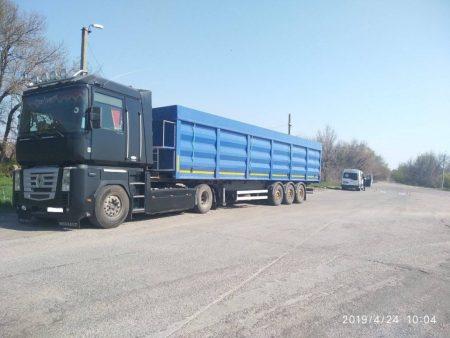 На Кіровоградщині власнику вантажівки виписали штраф у 9,5 тисяч євро за перевищення вагових норм. ФОТО