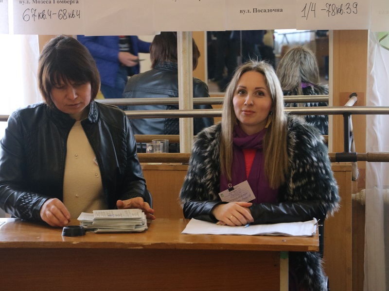 Без Купюр Вибори Президента: як голосують у Кропивницькому. ФОТО Політика  Кропивницький голосування вибори президента