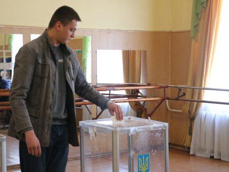 Явка виборців на Кіровоградщині станом на 15.00