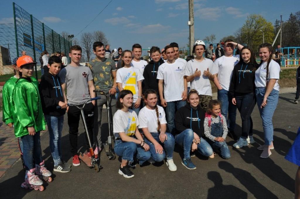 Без Купюр У Новоукраїнці відкрили скейт-парк для молоді, профінансований програмою DOBRE. ФОТО Життя  скейт-парк Новоукраїнка Кіровоградщина