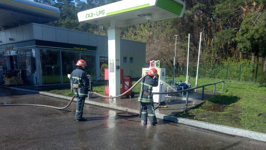 У Кропивницькому на заправці ліквідували витік газу. ФОТО Фото 1 - Події - Без Купюр - Кропивницький