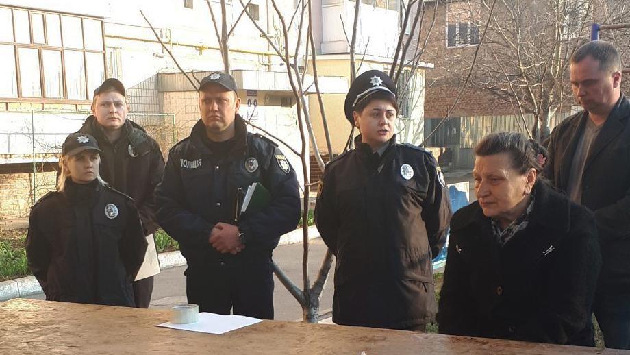 Без Купюр У Кропивницькому поліцейські зустрілися з жителями ОСББ Події  Сусідська варта Кропивницький