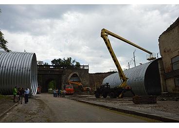 В міськраді Кропивницького повідомили, коли відкриють арку для транспорту