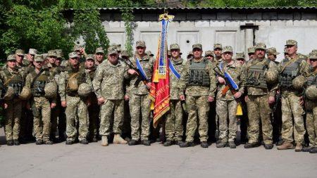 57-й бригаді присвоєно почесне найменування. ФОТО