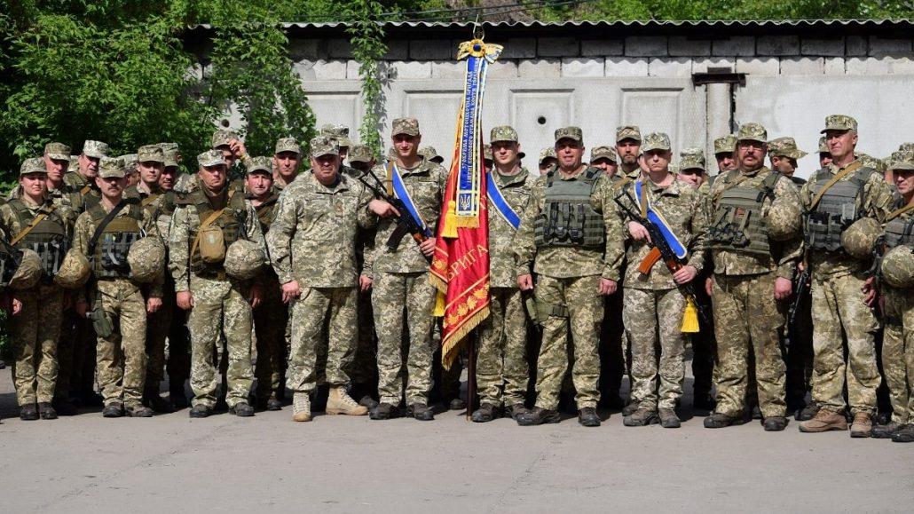 57-й бригаді присвоєно почесне найменування. ФОТО - 1 - Війна - Без Купюр