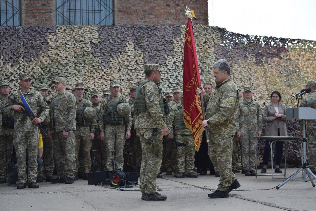 57-й бригаді присвоєно почесне найменування. ФОТО - 3 - Війна - Без Купюр