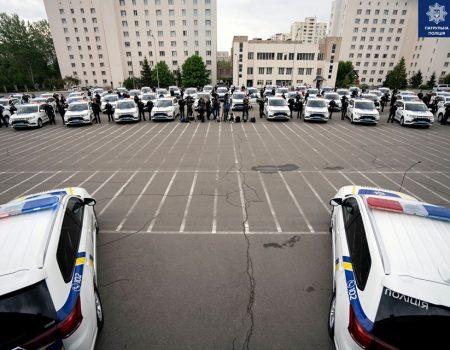 Патрульні Кіровоградської області отримають 2 автівки нового покоління. ФОТО