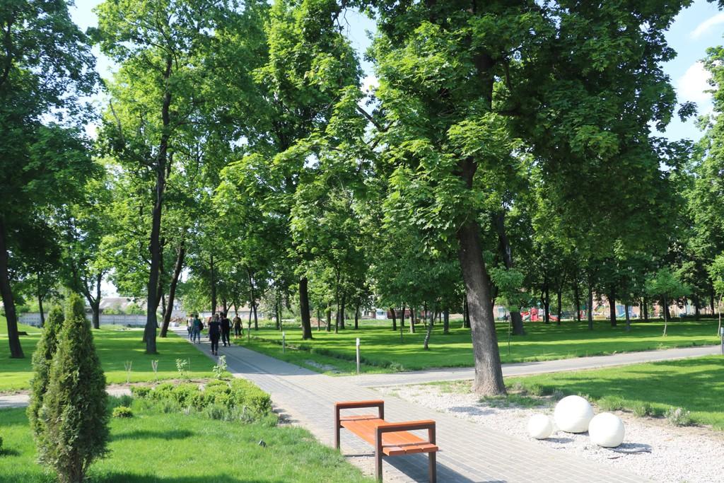 Без МАФів на клумбах і дерев-обрубків: у Новомиргороді зробили європейський парк. ФОТО - 7 - Децентралізація - Без Купюр