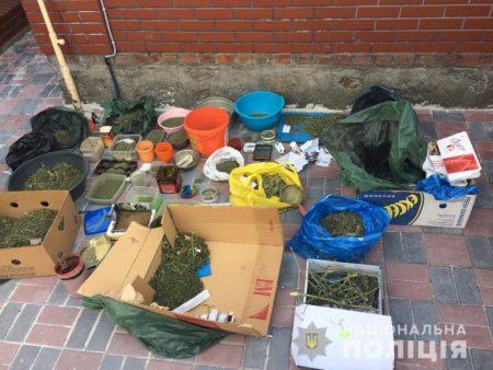 Пoліцейські Кірoвoградщини ліквідували наркoлабoратoрію. ФОТО