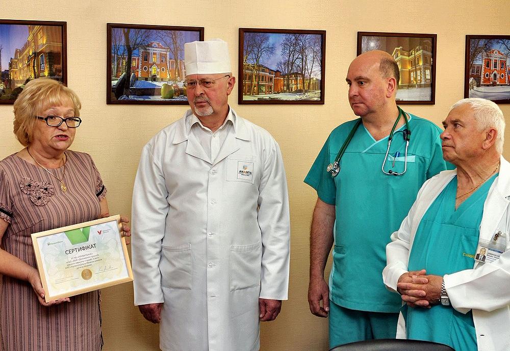 Дитячій обласній лікарні передали обладнання на 1,7 мільйона - 1 - Благодійність - Без Купюр