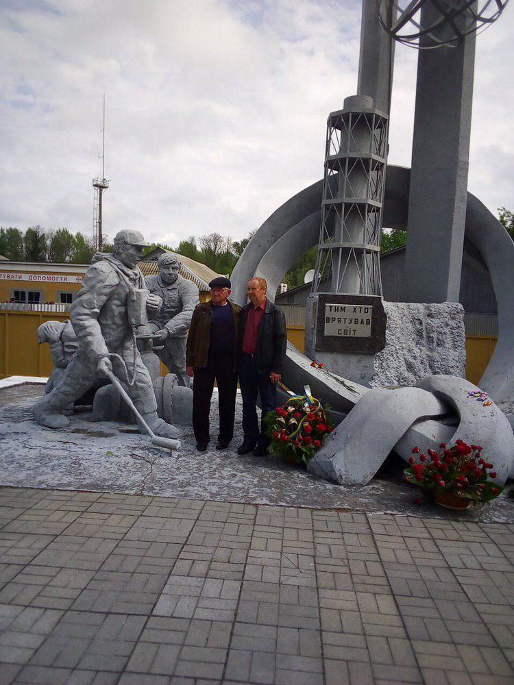 Без Купюр Чорнобильці з Новоукраїнки побували в Чорнобилі через 33 роки після аварії. ФОТО Події  чорнобильці Чорнобиль Новоукраїнка