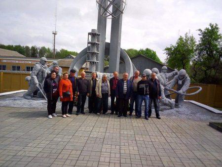 Чорнобильці з Новоукраїнки побували в Чорнобилі через 33 роки після аварії. ФОТО