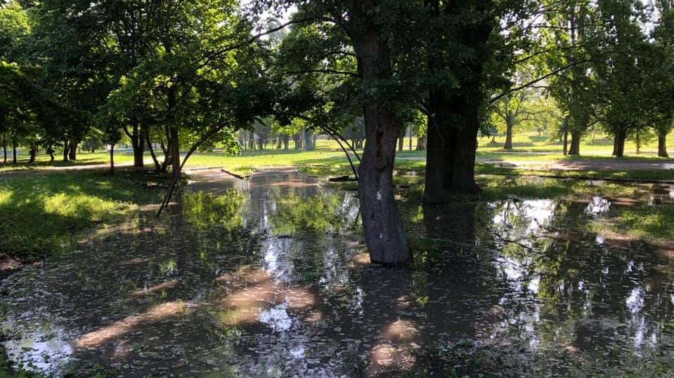 На Ковалівці обмежили водопостачання, ліквідовують порив у парку - 1 - Події - Без Купюр