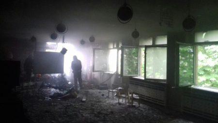 У дитсадку на Кіровоградщині сталась пожежа. ФОТО