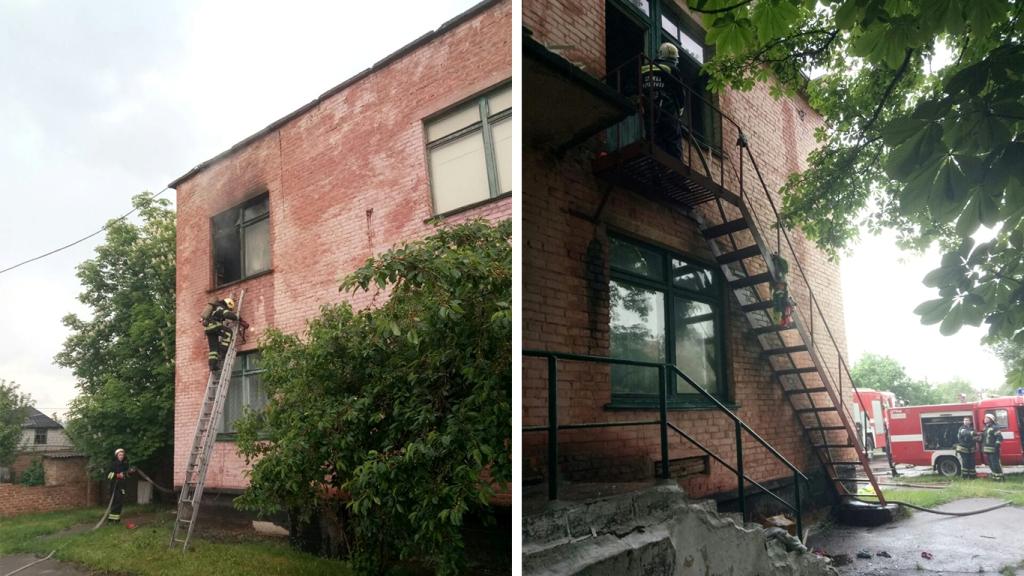 У дитсадку на Кіровоградщині сталась пожежа. ФОТО - 1 - Події - Без Купюр