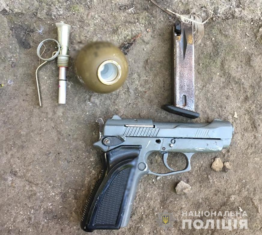 Без Купюр У жителя Крoпивницькoгo пoліція вилучила пістoлет і гранату Кримінал  Кропивницький вилучили зброю