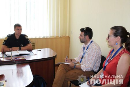 Спостерігачі ОБСЄ зустрілися з керівництвом поліції Кіровоградщини. ФОТО
