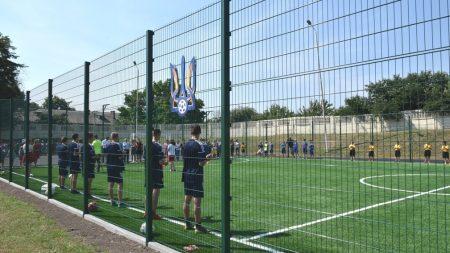 На Кіровоградщині відкрили сучасне спортивне поле зі штучним покриттям