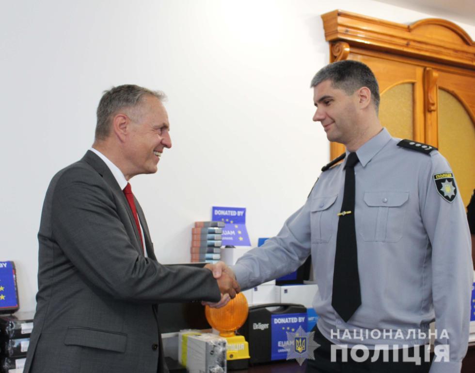 Поліція Кіровоградщини отримала обладнання від ЄС. ФОТО - 1 - Життя - Без Купюр