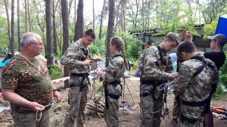 На Кіровоградщині завершився обласний збір військово-патріотичної гри. ФОТО