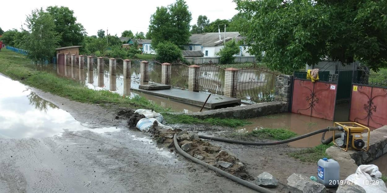 У Гайворонському районі третю добу відкачують воду з підтоплених садиб і вулиць. ФОТО - 9 - Події - Без Купюр