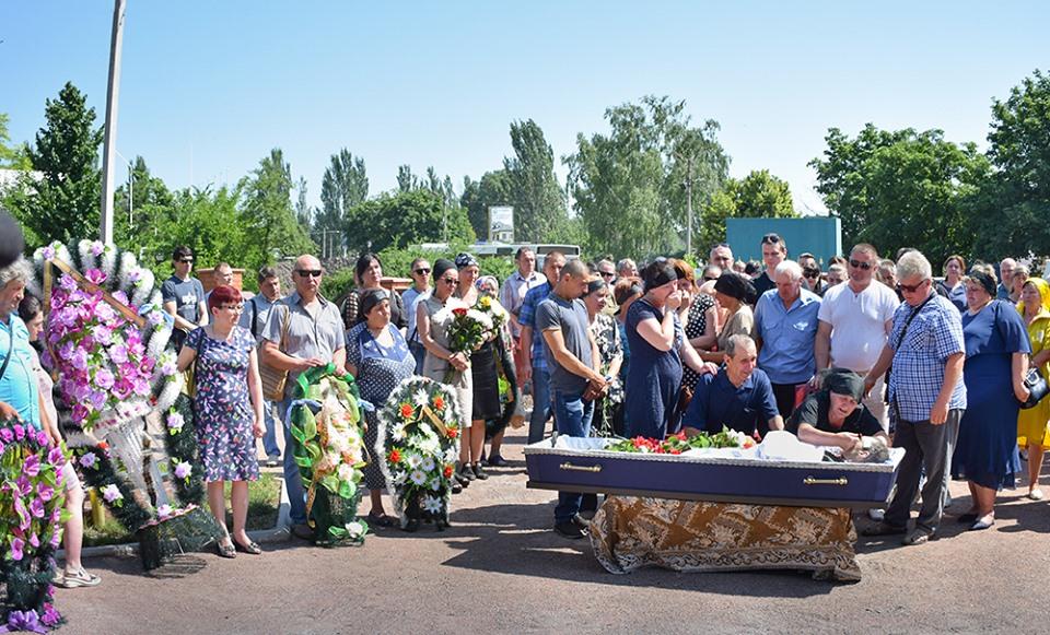 У Кропивницькому попрощались з учасником АТО Олександром Горбенком - 3 - Війна - Без Купюр