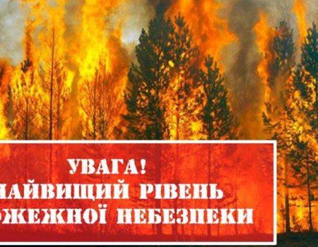 Кіровоградщина: синоптики попереджають про надзвичайну пожежну небезпеку