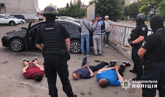 Без Купюр У Кропивницькому правоохоронці затримали учасників місцевої банди за рекетирство. ФОТО Кримінал  Кропивницький