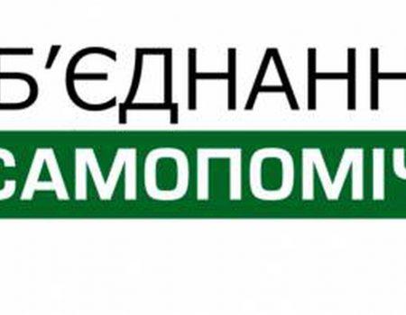 """У """"Самопомочі"""" немає кандидатів-мажоритарників по Кіровоградщині"""