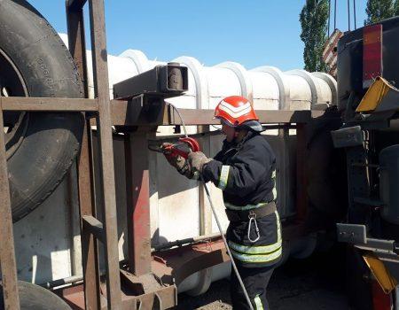 На Кіровоградщині минулої доби рятувальники 4 рази виїжджали на допомогу водіям