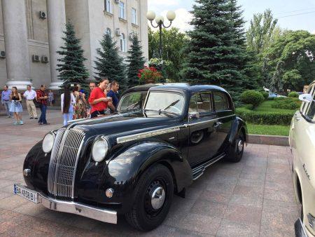 У Кропивницькому традиційно пройде фініш перегонів ретроавтівок