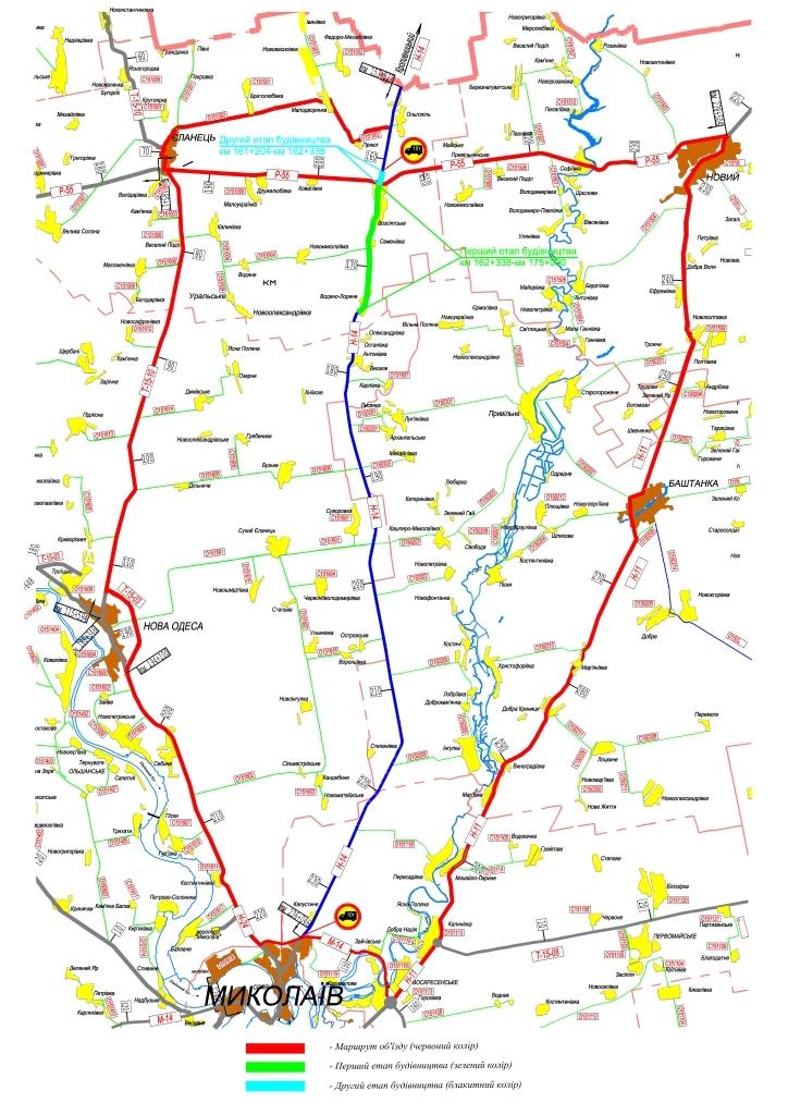 З  серпня по дорозі  Олександрівка-Кропивницький-Миколаїв заборонять рух вантажівок - 1 - За кермом - Без Купюр