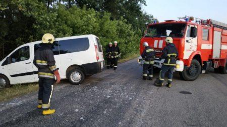 На Кіровоградщині сталося два ДТП, одне із смертельними наслідками