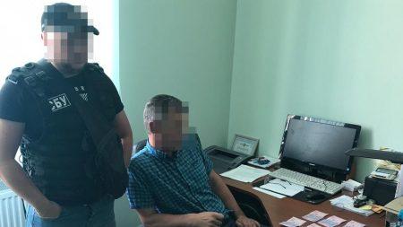 Заступника міського голови Гайворона викрито на отриманні хабаря. ФОТО