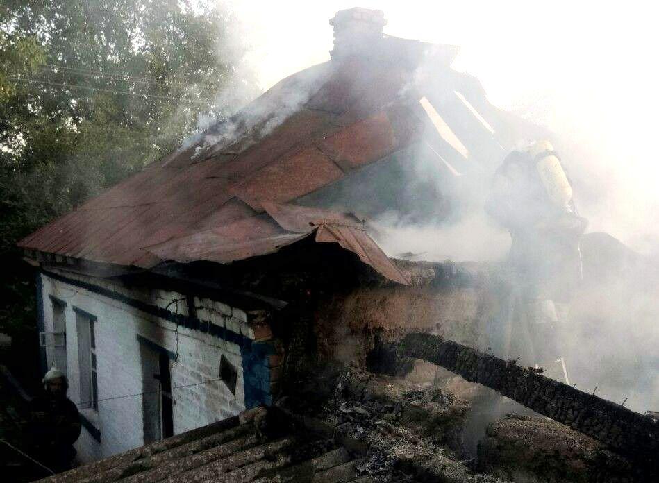 На Кіровоградщині під час пожежі загинув чоловік. ФОТО - 1 - Події - Без Купюр