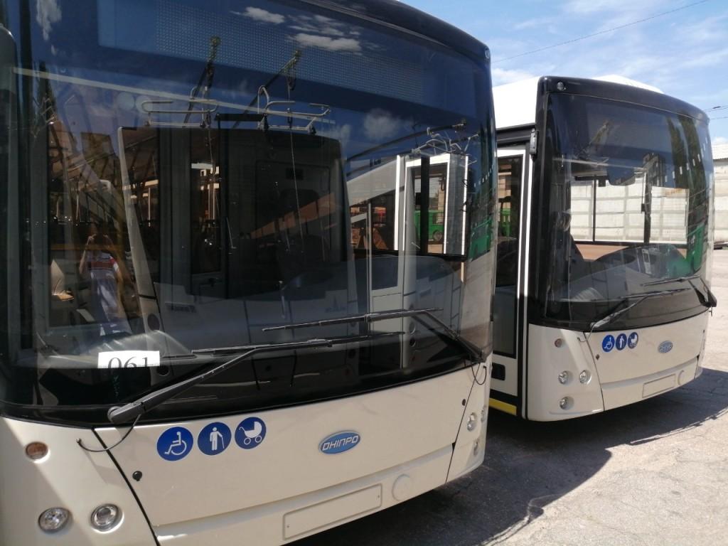 Без Купюр Вже у жовтні в Кропивницькому їздитимуть нові тролейбуси з автономним ходом. ФОТО Транспорт  тролейбуси з автономним ходом ПриватБанк Кропивницький Електротранс