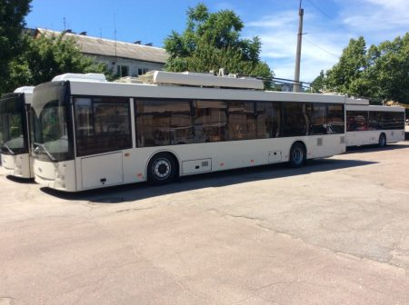 Вже у жовтні в Кропивницькому їздитимуть нові тролейбуси з автономним ходом. ФОТО
