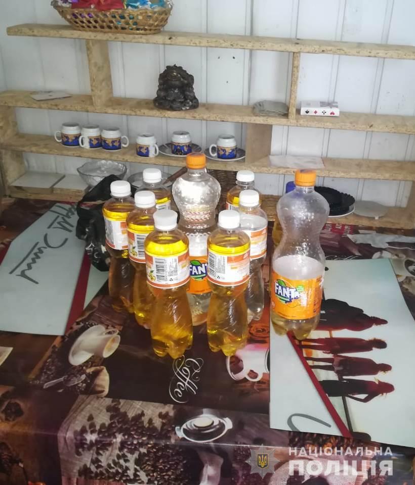 Без Купюр У Кропивницькому дільничні припинили торгівлю алкоголем сумнівного походження Кримінал  Кропивницький алкоголь