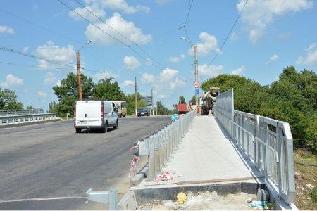 Реконструкція шляхопроводу по провулку Об'їзному у Кропивницькому майже завершена