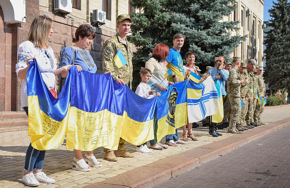 Без Купюр У Кропивницькому відбулися офіційні заходи з нагоди Дня прапора та Дня Незалежності України. ФОТО Події  урочисті заходи ОДА заходи військовослужбовці